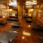 遊食家 ゆがふ - 各個室にサーキュレーター設置