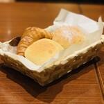 ロッソ - パン盛り