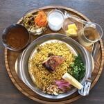 三条スパイス研究所 - 料理写真:チキンビリヤニセット