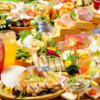 飲み会に♪宴会コース3500円~!