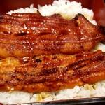 和食レストランとんでん - うな重 そばセット
