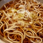 和食レストランとんでん - 『うな重 そばセット』の温かい蕎麦