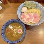 俺の麺 春道 - 味玉つけ麺(950円)