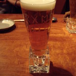 皆月 - 皆月(西原):ウマイ生ビールとユニークなタンブラー