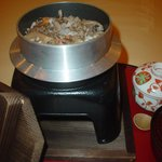 かわら亭 - 鳥取和牛の釜めし(定食・御膳などチョイス出来ます)
