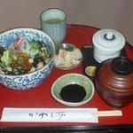 かわら亭 - 鰆のタタキ・漁師丼