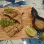 藤の家 - 鰻白焼き