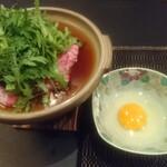 藤の家 - あきた錦牛のすき焼き
