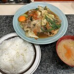 洋庖丁 - スタミナ焼定食