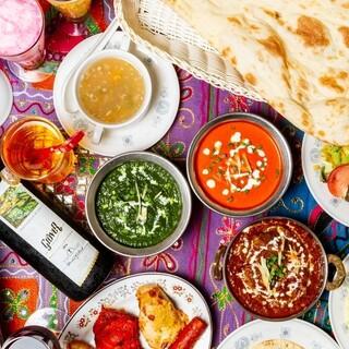 本格インド・タイ・ネパール料理が食べられるお店です