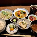 赤坂 多に川 - ランチ1400円税込