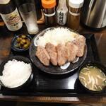 キセキ食堂 - 料理写真:カットステーキ定食¥1290