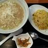 Ripin - 料理写真:葱油ラーメン焼飯定食 880円(税別)