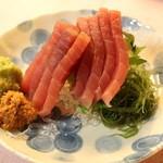 北海道食堂CAPTAIN - 【その日のお刺身】北海道特産品''山わさび'付◎'