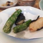 和食宴 あずま - 山芋の磯部揚げ