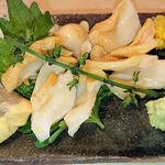 Tokudawara - 白つぶ貝刺