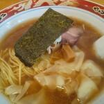 支那ソバ 玉龍 - ワンタン麺・海老
