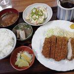 13403689 - チキンカツ定食 \700