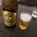 ノンシャラン - で、瓶ビール