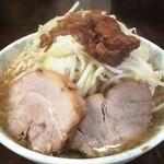 ラーメン二郎 - 料理写真:小ラーメン(野菜・アブラ)