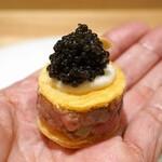 銀座 大石 - 料理写真:洋風初鰹のタタキ