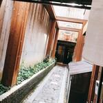 上海楼 横堀店 - 玄関
