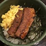 kandaotonanookinawaryouritengushiken - ランチAセットの炙り焼き角煮丼(小)