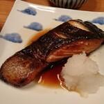 面 - 「銀鱈の西京焼き」じゃなく「銀鱈つけ焼き」