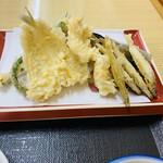 天ぷら食堂 魚徳 - 天ぷら