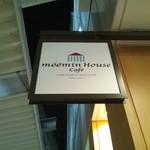 ムーミンハウスカフェ - 看板