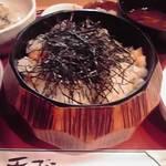 13405495 - 天ばらおひつ(1,100円)お料理はこれだけじゃありません!