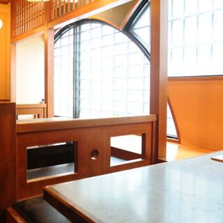 心安らぐ和空間で、食事と会話を愉しむひとときを
