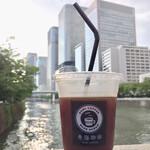 玄三庵  - アイスコーヒー(¥100)