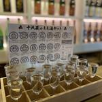 134059368 - 圧巻の17蔵元日本酒飲み比べ♡お酒の名前と説明付き♡