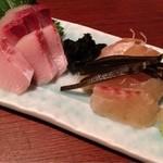 くいしん坊 大将 - ハマチと真鯛(#^.^#)