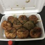 蛸家 - 醤油たこ焼き9個600円!