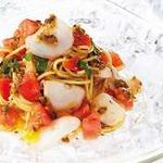 ピッツァ サルヴァトーレ クオモ - 北海タコのスモークとフレッシュトマトの冷製パスタ