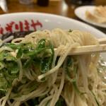 八幡山ばりきや - 博多麺と九条ネギ