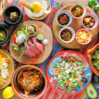 【8月からメニューがリニューアル】本格メキシカン料理が豊富♪