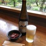 Yuukiteikawashima - 先ずは瓶ビール