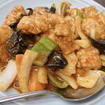 中華料理大吉亭 - 鳥唐揚げの辛子うま煮 950円