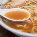 東池袋大勝軒 - スープ