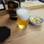 134081610 - 天ぷらにはビール。異論は認めない。