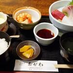 おがわ - 料理写真:刺身定食1,500円