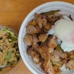 134091398 - 熊本地鶏(天草大王)ステーキ丼1,200円