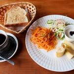 きたのカフェ - 料理写真:モーニング(全体)