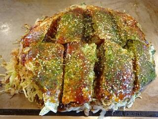 広島焼 とし - シーフード焼き
