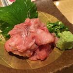 寿司 魚がし日本一 - 本まぐろ中落ち780円(税別)
