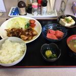 かちどき - 料理写真:定食650円