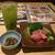 寿司 魚がし日本一 - 緑茶ハイ190円とお通し400円(税別)